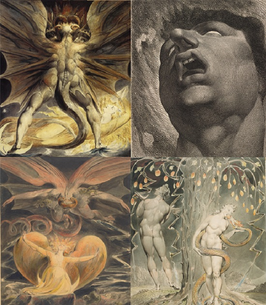 WILLIAM BLAKE: LA FUERZA DEL ESCORZO